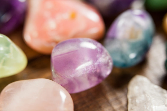pedras e cristais